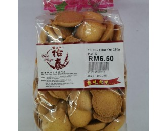 Yee Thye Puffy Egg Biscuit 250G 裕泰松脆鸡蛋饼