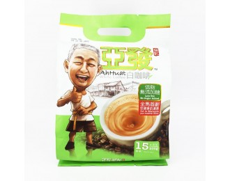 Ah Huat White Coffee Sugar-Free 20gx15 亚发无糖低脂白咖啡