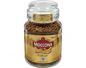 Moccona Classic Medium Roast Freeze Dried Instant Coffee 100g 摩可纳中度烘焙冻干速溶咖啡