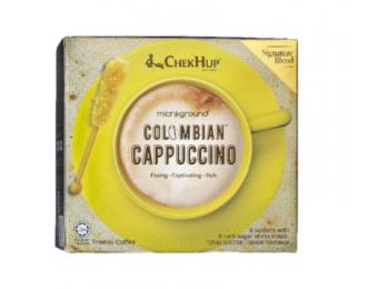 Chek Hup Microground Colombian Cappuccino 28gx6 怡保泽合哥伦比亚卡布奇诺精品咖啡粉