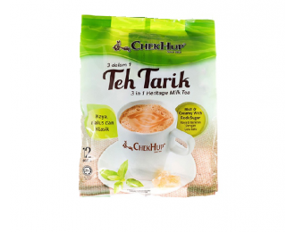 Chek Hup Teh Tarik Heritage Milk Tea Original 3in1 40gx12 怡保泽合3合1香滑原味拉奶茶