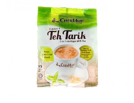Chek Hup Teh Tarik Heritage Milk Tea Original 3in1 40gx12 怡保泽合3合1香滑原味拉奶茶