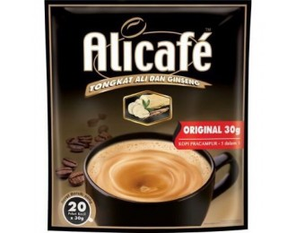 Alicafe Tongkat Ali Ginseng Original Coffee 30G x20 阿里咖啡东革阿里人参原味咖啡