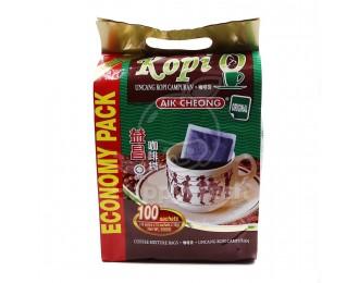 Aik Cheong Kopi O Kosong 2in1 10gx100 益昌2合1黑咖啡乌