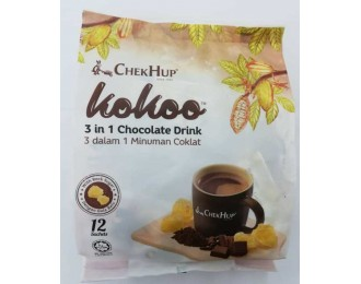 Chek Hup Kokoo 3in1 Chocolate Drink 40gx12 怡保泽合3合1原味巧克力