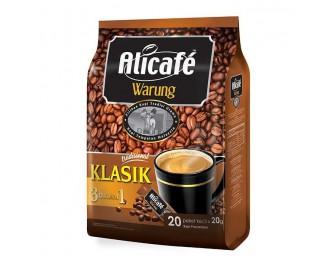 Alicafe Warung Classic Coffee 3in1 20Gx20 阿里咖啡路边摊风味3合1经典咖啡