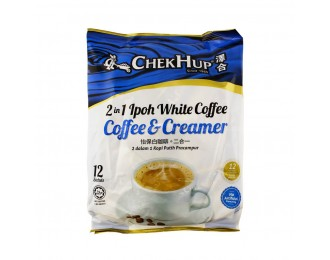 Chek Hup White Coffee (Creamer & Coffee) 2in1 No Sugar 30gx12 怡保泽合2合1无糖白咖啡