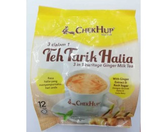 Chek Hup Teh Tarik Heritage Ginger Milk Tea 3in1 40gx12 怡保泽合3合1香滑姜味拉奶茶