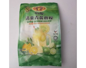 King Star Lime Lemon Drink 20gx15 金星清爽青黄柠檬饮