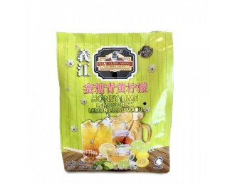 Yee Kong First Class Aroma Honey Lime Lemon Drink 25gx15  義江怡保蜜糖青黄柠檬饮