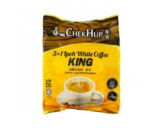 Chek Hup White Coffee King 3in1 40gx12 怡保泽合3合1香浓白咖啡