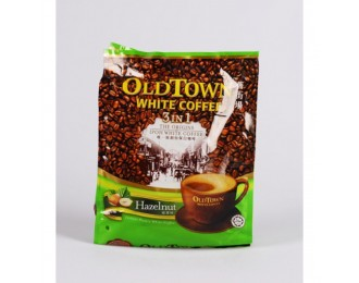 Old Town White Coffee Hazelnut 3in1 38gx15 怡保旧街场3合1榛果味白咖啡