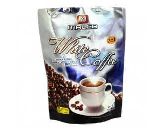 Malco Premix Ipoh Original White Coffee 2in1 40gx15 马可怡保无加糖白咖啡