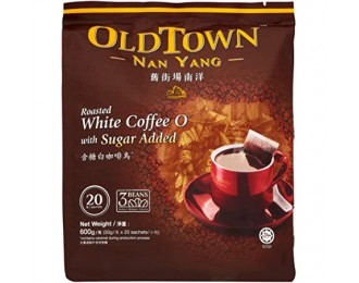 Old Town Nan Yang White Coffee O 2in1 with Sugar Added 30gx20 怡保旧街场南洋含糖白咖啡乌