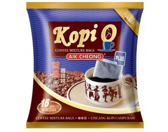 Aik Cheong Kopi O Kosong Plus 2in1 14gx15 益昌2合1浓黑咖啡乌