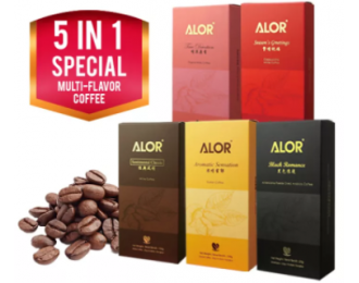 Alor Multi-flavour White Coffee 5in1 亚罗5合1多种口味白咖啡