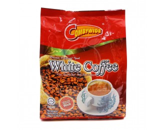Combywide Premix Original Ipoh White Coffee Charcoal Roasted Rich 3in1 40gx15 肯比维炭烧香浓怡保白咖啡