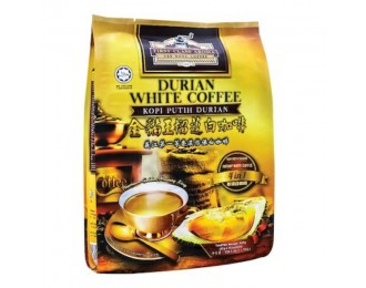 Yee Kong First Class Aroma Durian White Coffee 4in1 35gx15 義江怡保4合1榴莲白咖啡