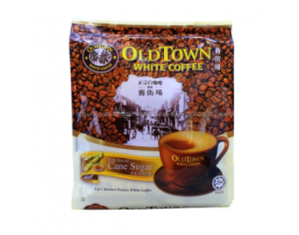 Old Town White Coffee Cane Sugar 3in1 36gx15 怡保旧街场3合1天然蔗糖白咖啡