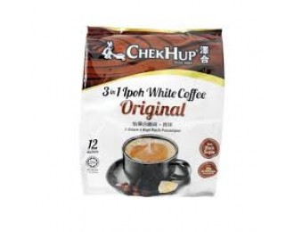 Chek Hup White Coffee Original 3in1 40gx12 怡保泽合3合1原味白咖啡