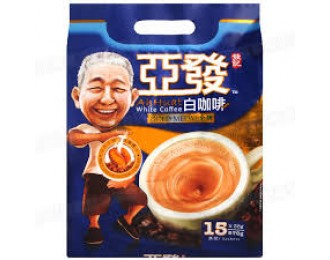 Ah Huat White Coffee Gold Medal 38gx15 亚发金牌白咖啡