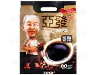 Ah Huat Kopi O 2in1 20gx20 亚发含糖咖啡乌