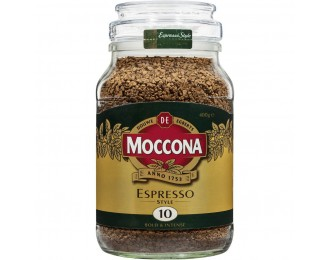 Moccona Espresso Style Freeze Dried Instant Coffee 100g 摩可纳意式浓缩冻干黑咖啡