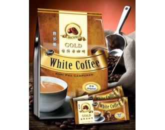 Hicomi White Coffee Gold 3in1 40gx15 喜多美怡保3合1原味白咖啡
