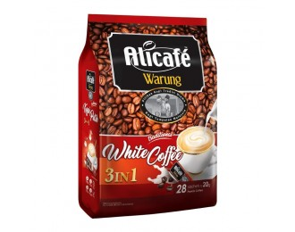 Alicafe Warung White Coffee 3in1 20Gx28 阿里咖啡路边摊风味3合1白咖啡