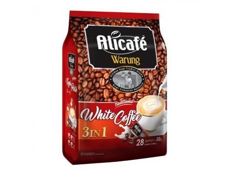 Alicafe Warung White Coffee 3in1 20Gx28 阿里咖啡路边摊风味3合1白咖啡
